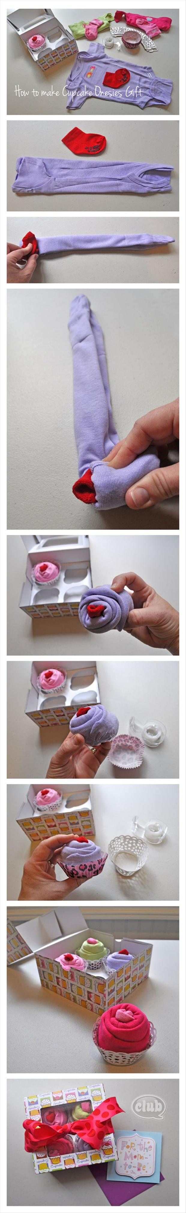 wrap wires to make cupcake onesies, fun crafts