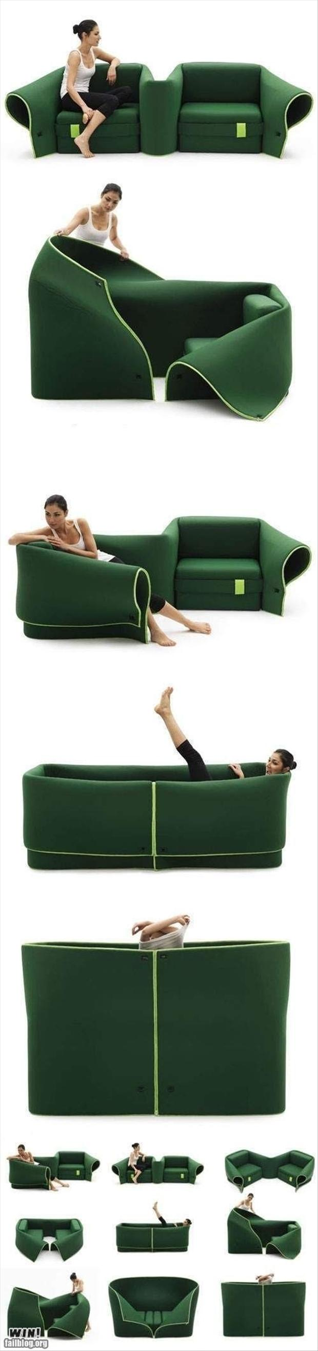 z amazing flexable couch