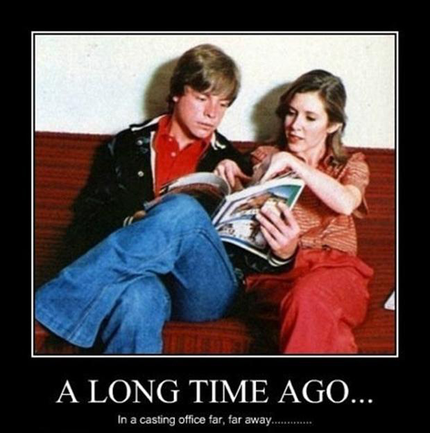 2 star wars demotivational posters, funny pictures