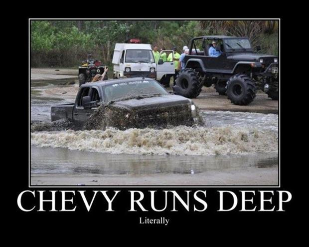 Chevy runs deep, funny pictures