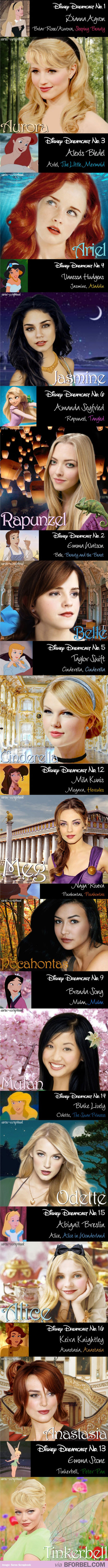 Disney Characters in real life