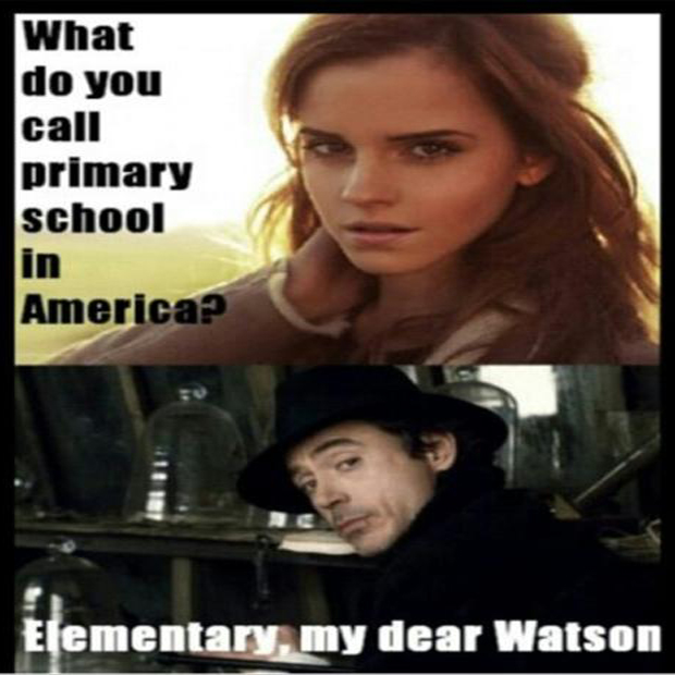 I see what you did there emma watson