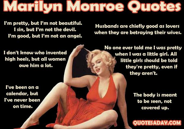 Marilyn Monroe Quotes (2)