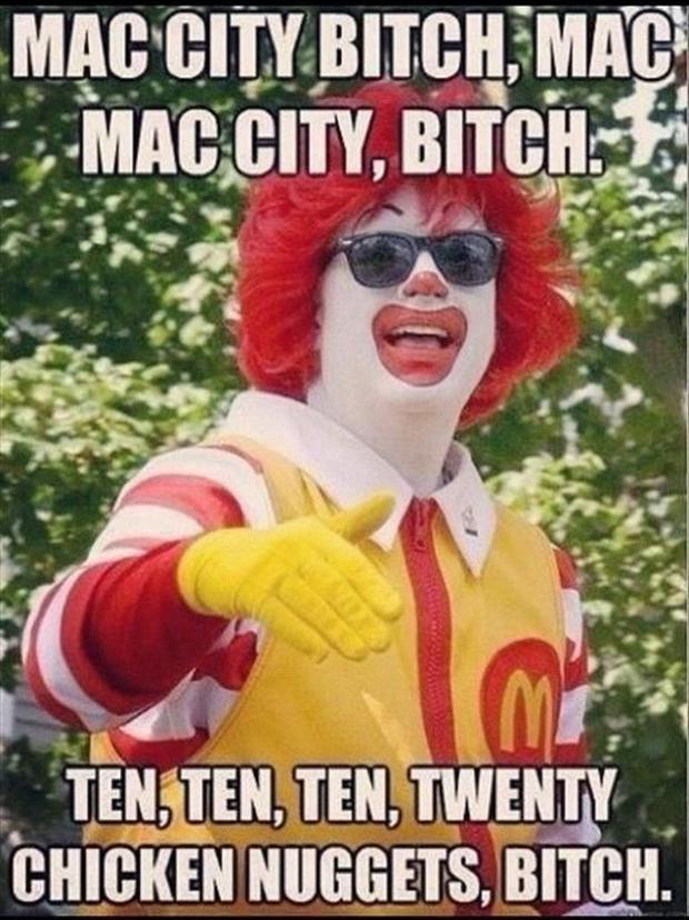 McDonalds, Funny Pictures