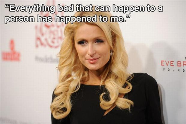 a Paris Hilton Quotes