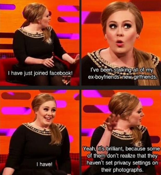 a funny adele quotes