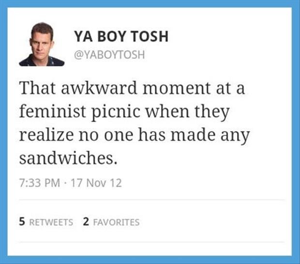 a funny awkward moments, sandwhiches
