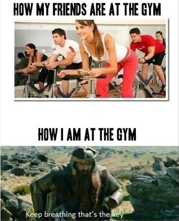 a funny pictures, gym
