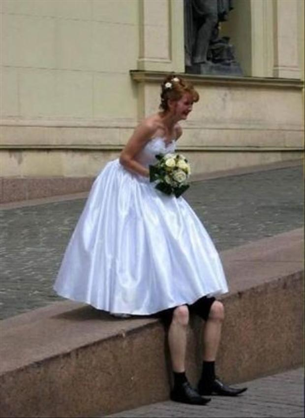 a funny wedding pictures