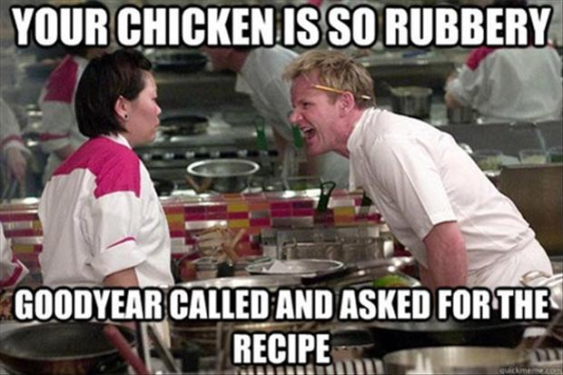a gordon ramsay meme, funny insults