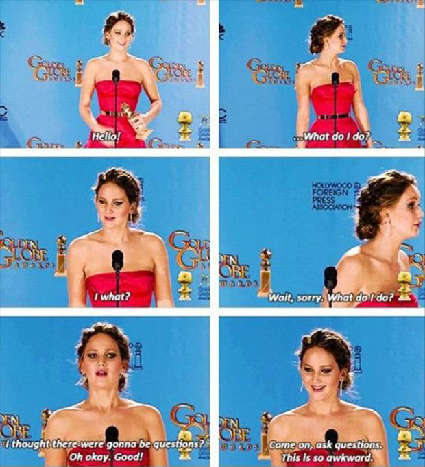 a jenifer lawrence oscar quotes
