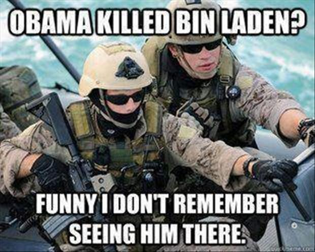 a obama killed bin laden, funny pictures