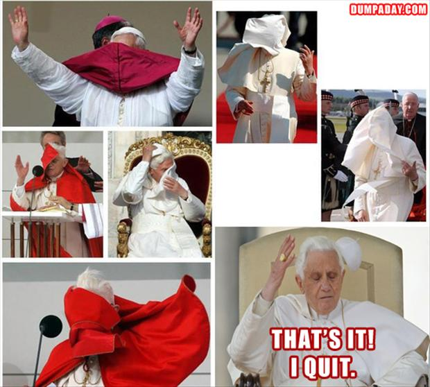 a pope quits
