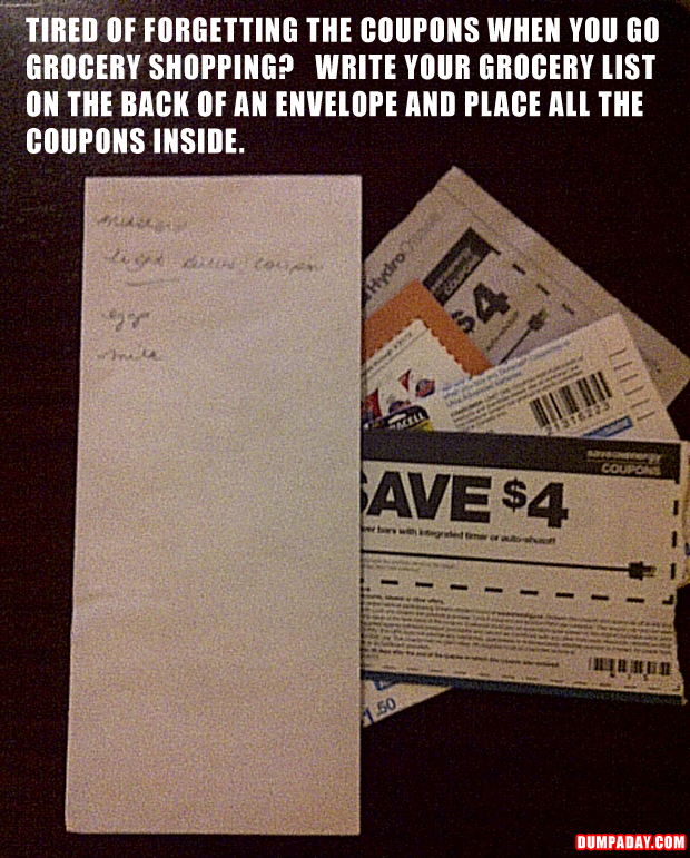 a quick tip to remember coupons