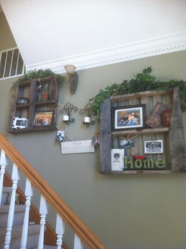a reuse old pallets
