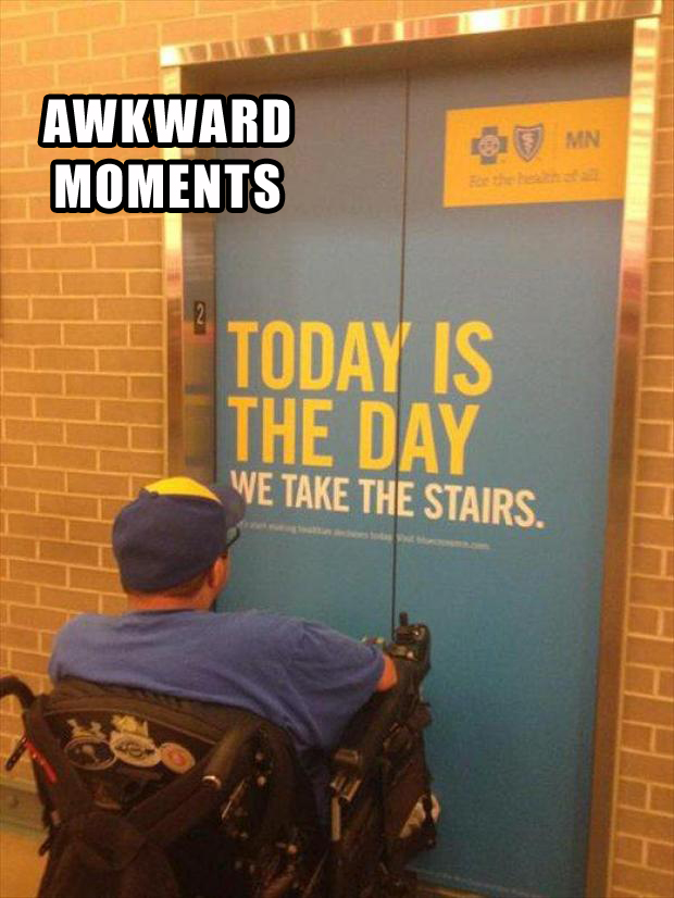 a this is awkward, funny pictures, wheelchairs