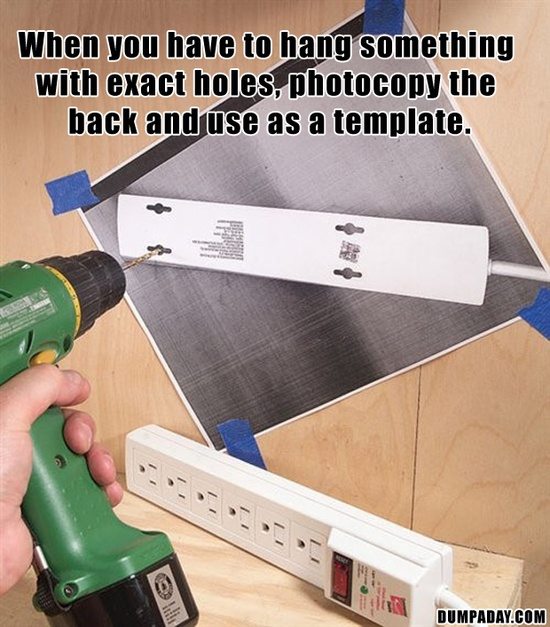 a tips for hanging pictures
