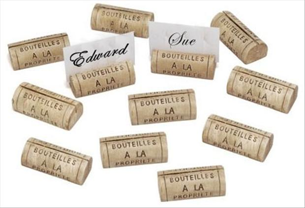 a wedding craft ideas, wine corks