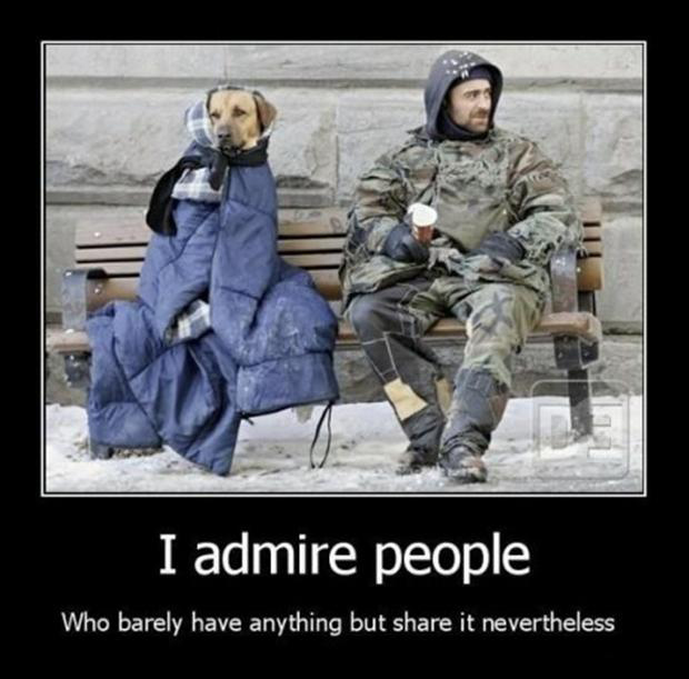admire people, demotivational posters