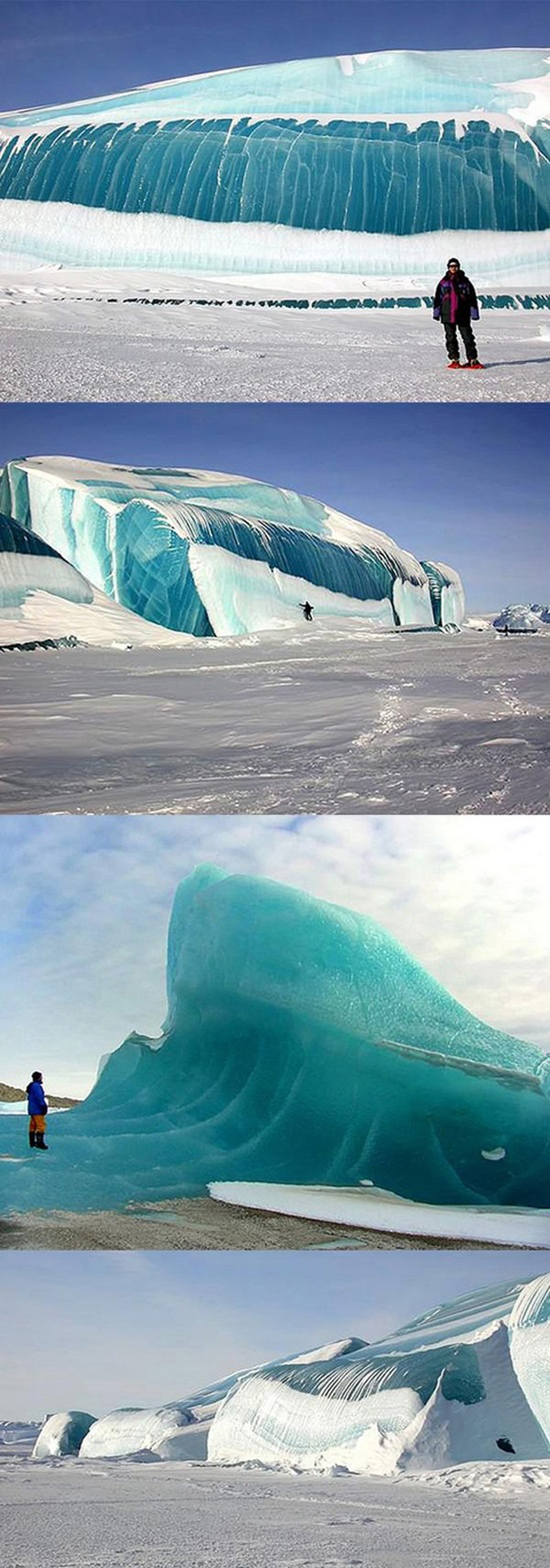 amazing ice formations
