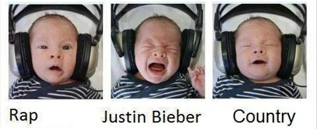 baby music, funny faces