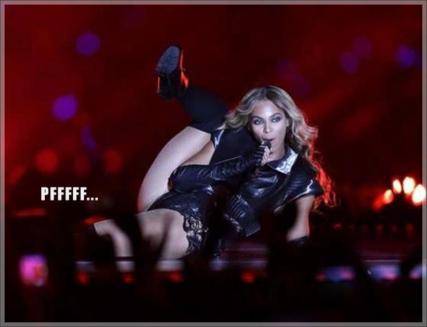 beyonce super bowl meme, farting