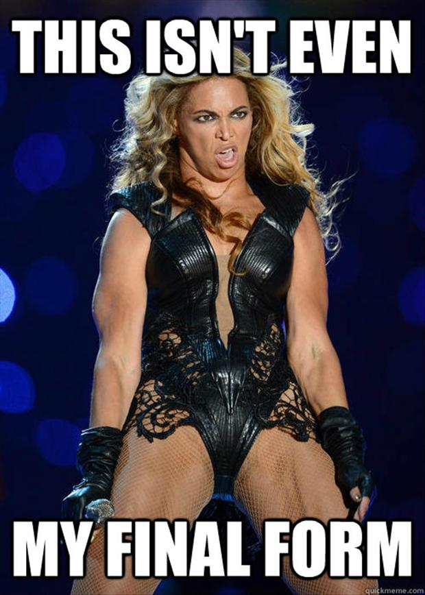 beyonce super bowl meme, final form