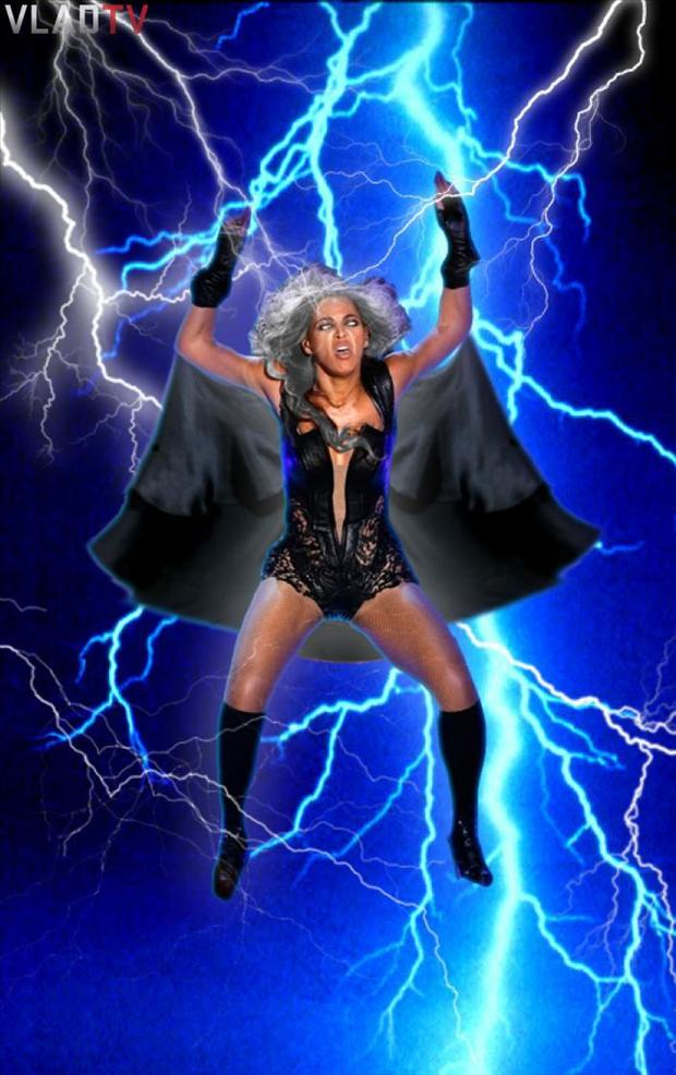 beyonce super bowl pictures, lightning