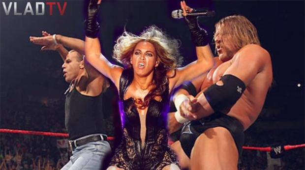 beyonce super bowl pictures meme, wrestler