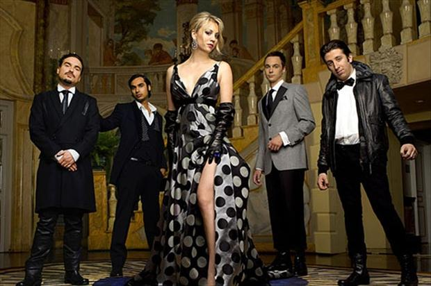 big bang theory cast members all dressed up