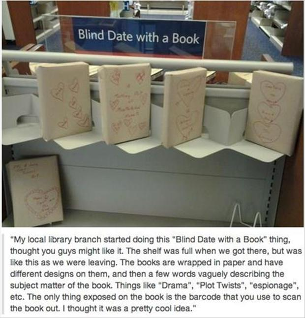 blind date a book, funny pictures