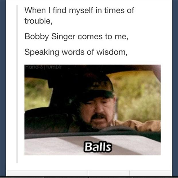 Doza smeha  - Page 9 Bobby-singer-supernatural-funny-pictures