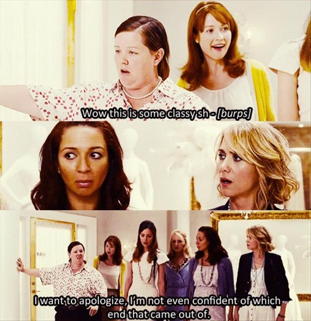 bridesmaids, funny quotes