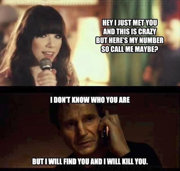call me maybe, funny quotes