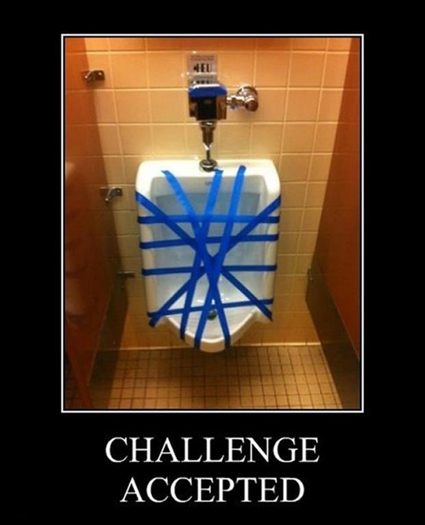 challenge accepted, out of order