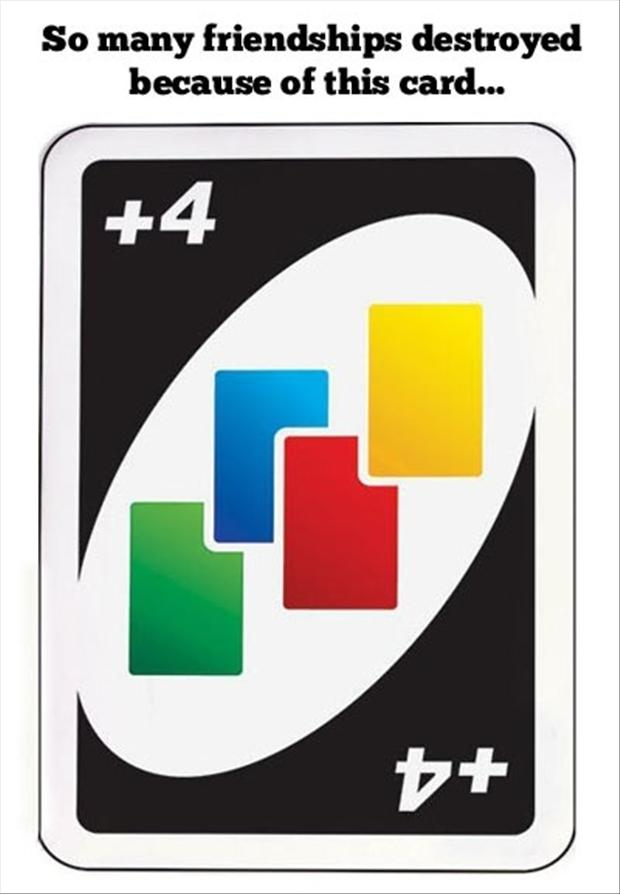 draw four uno card
