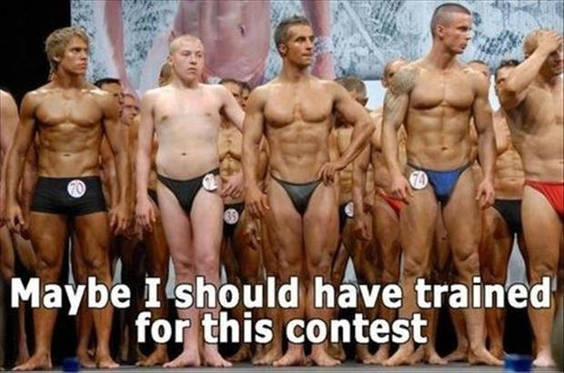 funny awkward moments, body builders