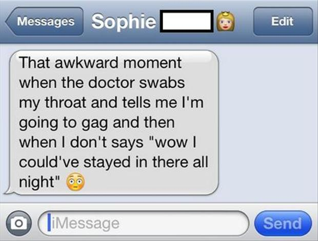 funny awkward moments, texts