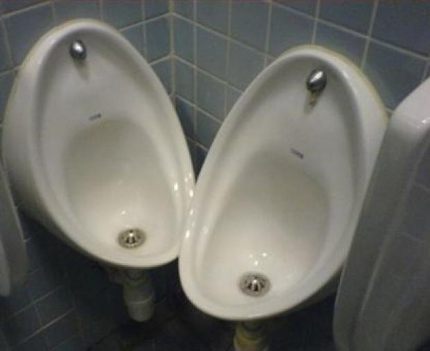 funny awkward pictures, urinals