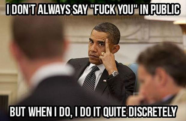 Funny Obama Quotes Captivating Funny Barack Obama Pictures  Dump A Day