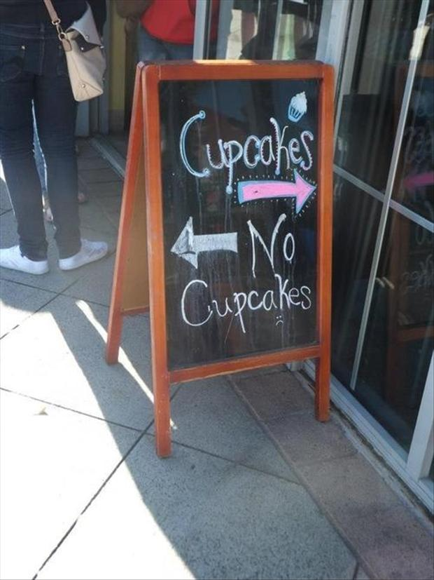 funny chalk signs