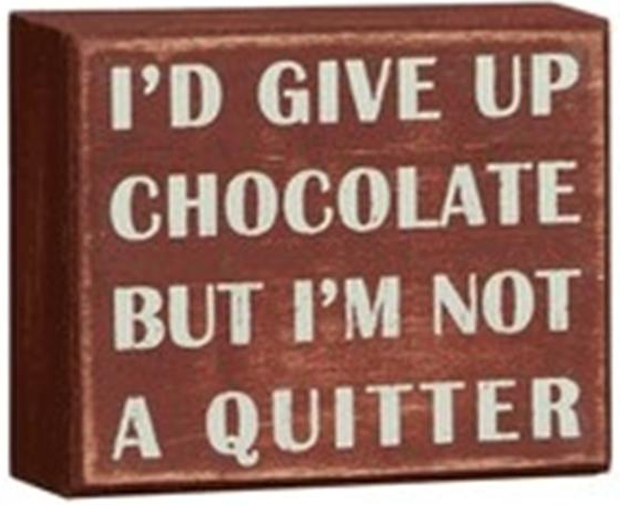 funny chocolate quotes