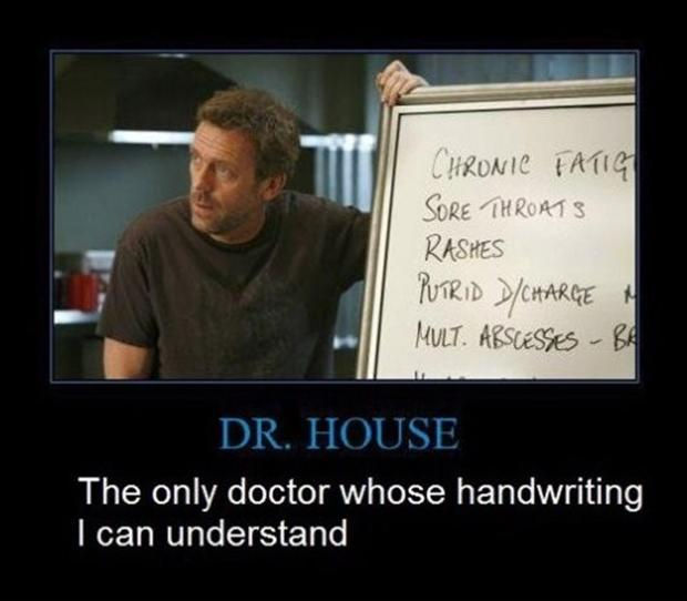 funny demotivational posters, doctor house