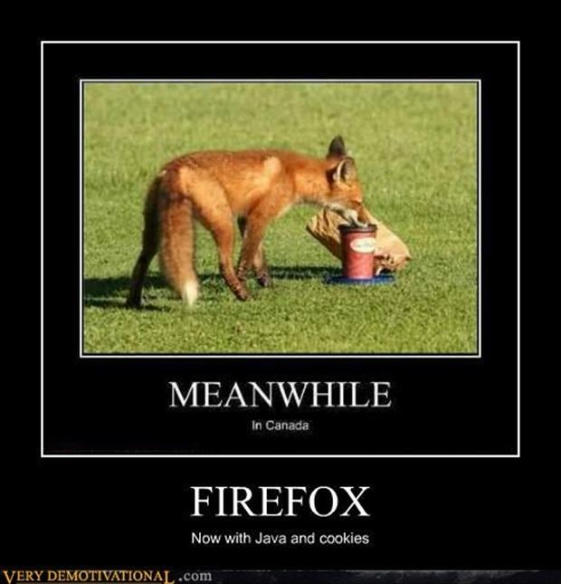 funny demotivational posters, firefox