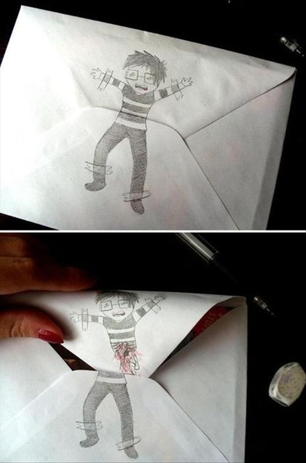 funny envelopes