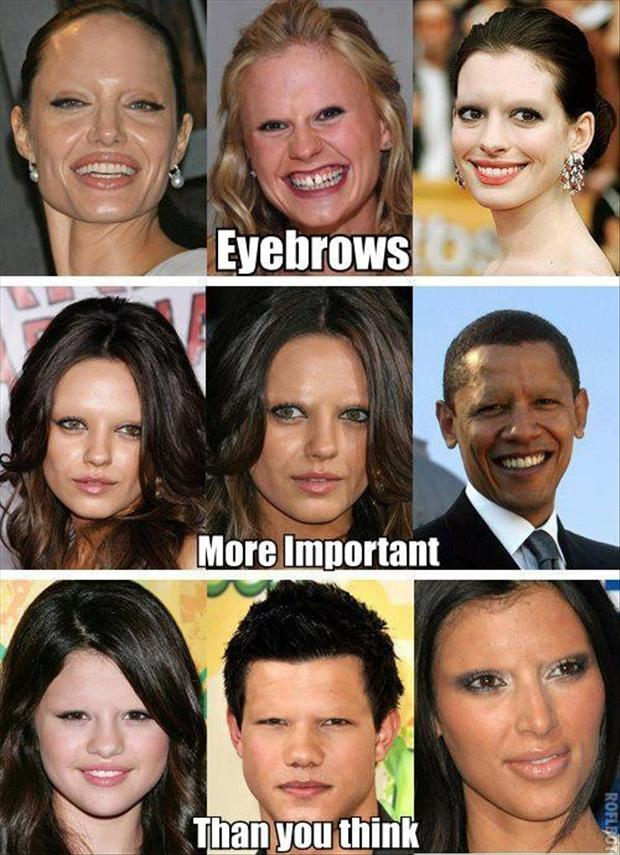 funny eyebrows