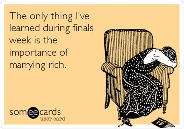 funny finals week pictures