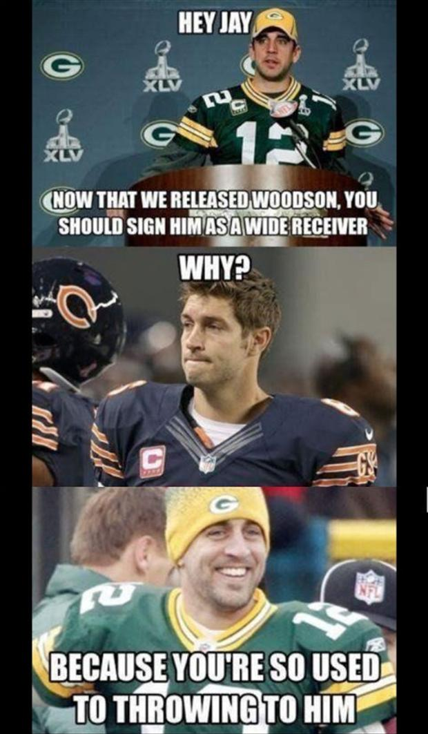 funny football jokes, aaron rogers