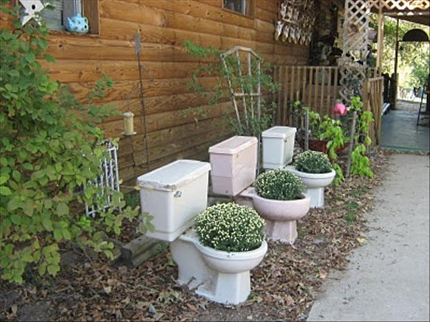 funny garden displays