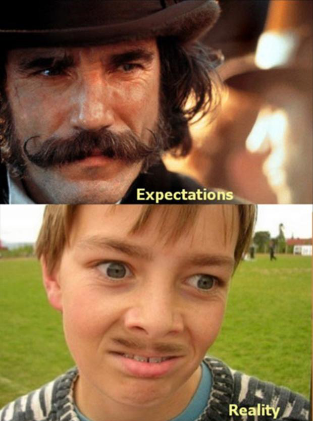 funny mustaches
